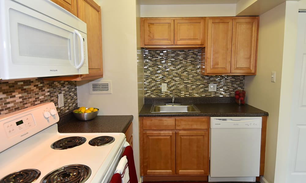 Our apartments in Beltsville, MD offer nice kitchens