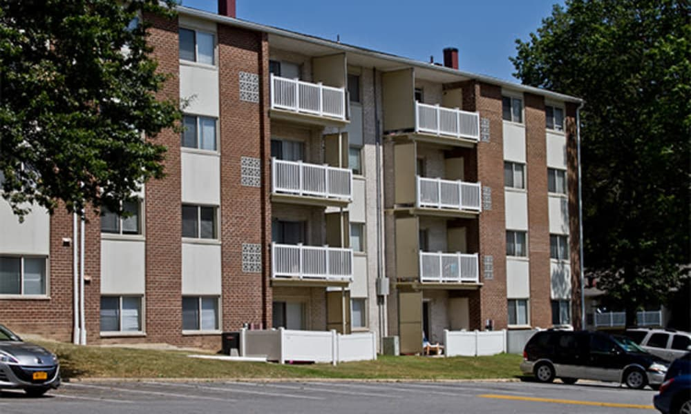 Exterior view at Henson Creek Apartment Homes in Temple Hills, MD