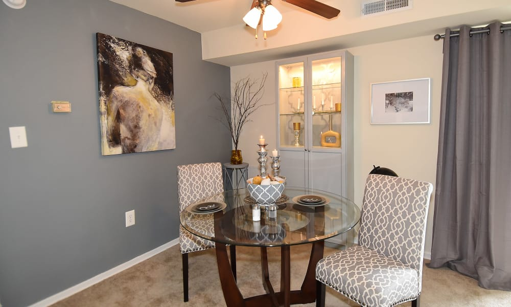 Our apartments in Temple Hills, MD offer a dining room