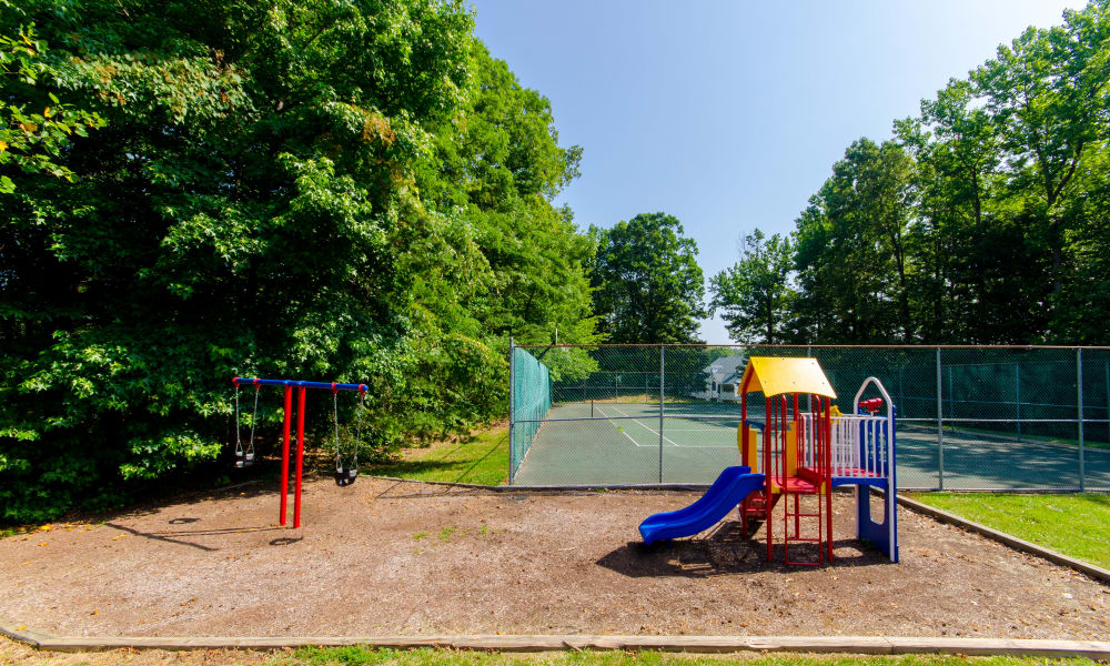 Playground at The Pointe at Stafford Apartment Homes