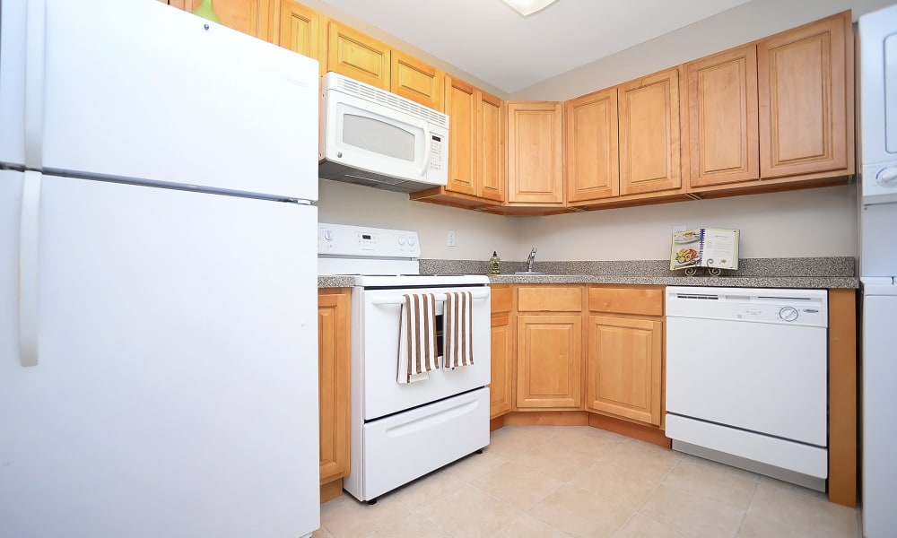 Our apartments in Eastampton, NJ showcase a luxury kitchen