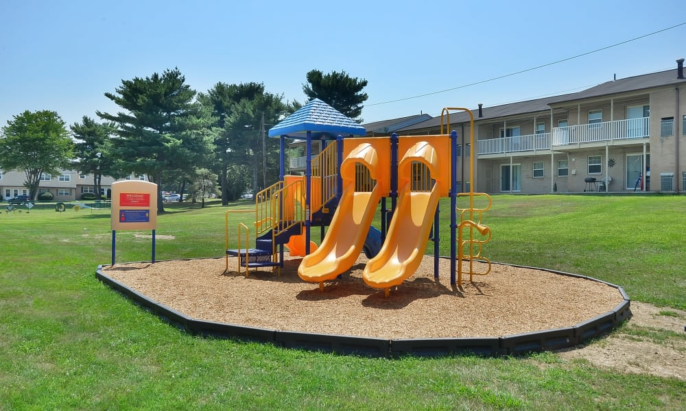 Beautiful playground at Eastampton Gardens Apartment Homes in Eastampton, NJ
