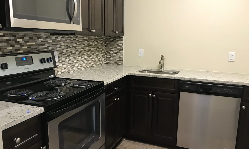 Our apartments in Laurel, MD offer a fully equipped kitchen
