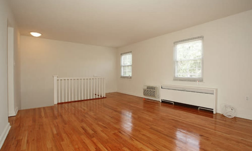 Hardwood floors at apartments in Springfield, New Jersey