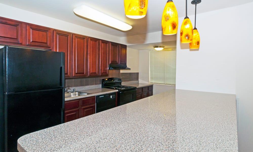 Kitchen at Stoneridge at Mark Center Apartment Homes