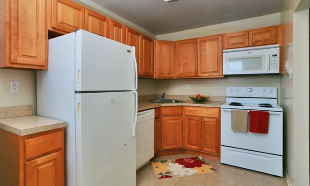 Beautiful kitchen at Lumberton Apartment Homes in Lumberton, NJ