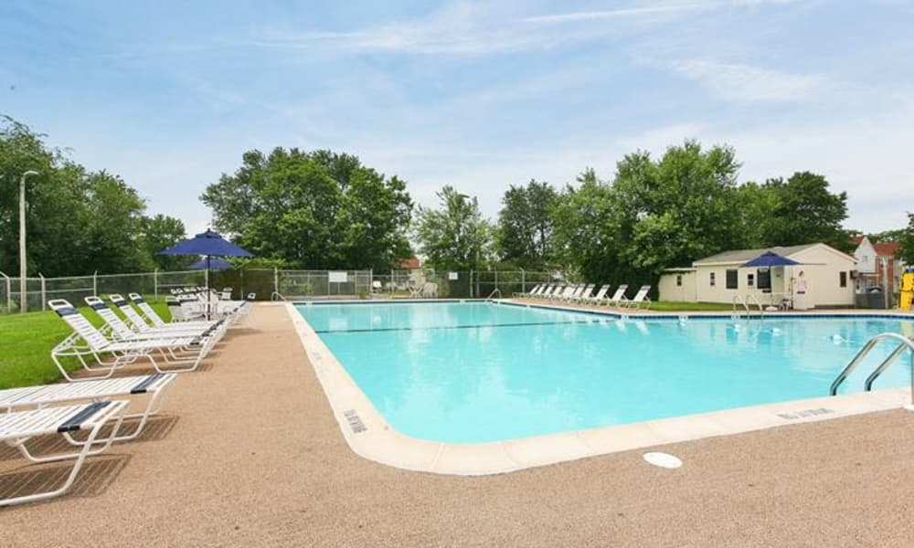 Beautiful swimming pool at Lumberton Apartment Homes in Lumberton, NJ