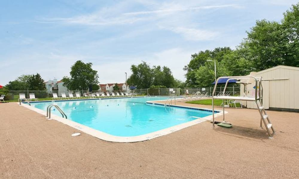 Our apartments in Lumberton, NJ showcase a beautiful swimming pool
