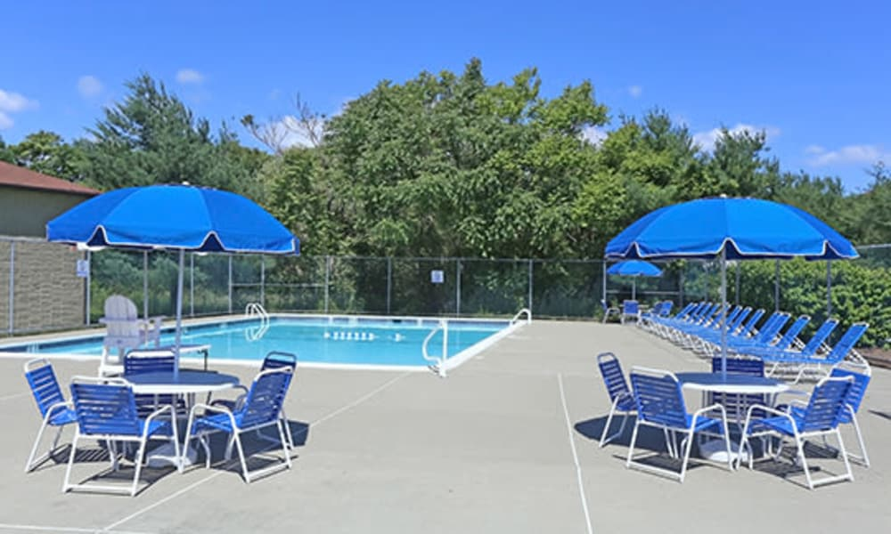Imperial Gardens Apartment Homes offers a unique swimming pool in Middletown, NY