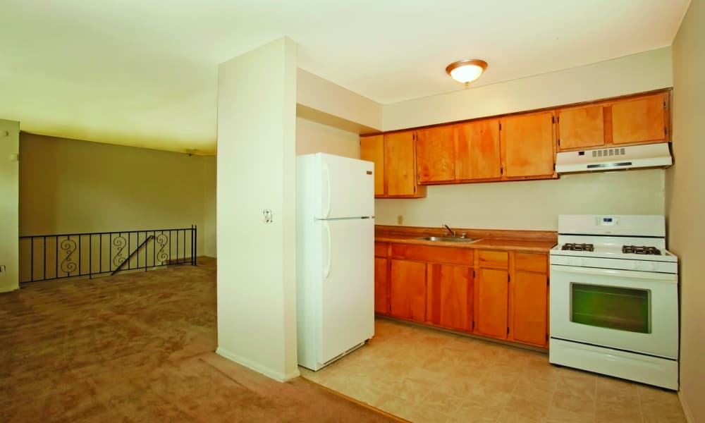 Kitchen at Glen Ellen Apartment Homes in Long Branch, NJ