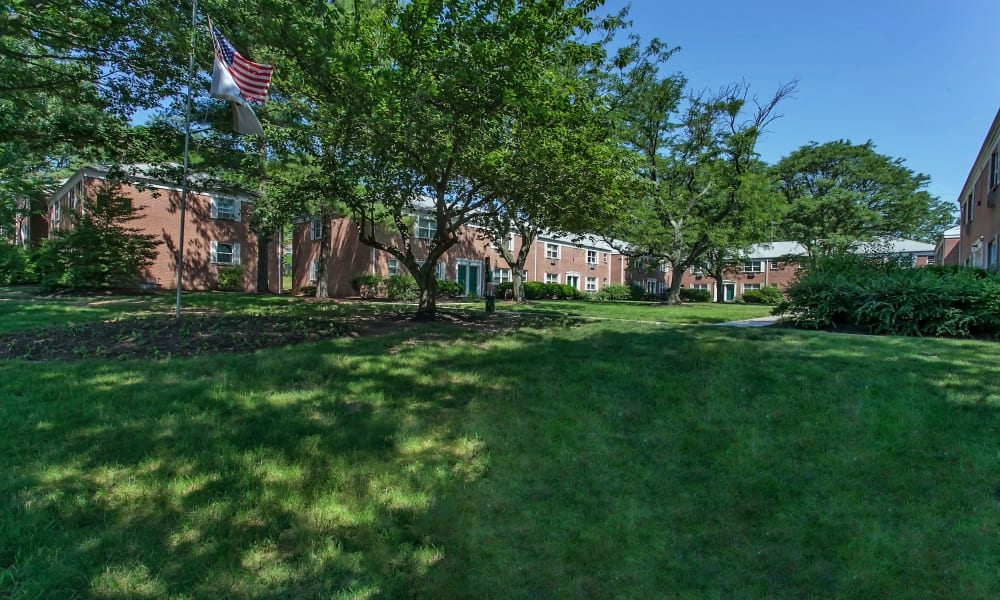 Courtyard at Village Green Apartment Homes in South River, NJ