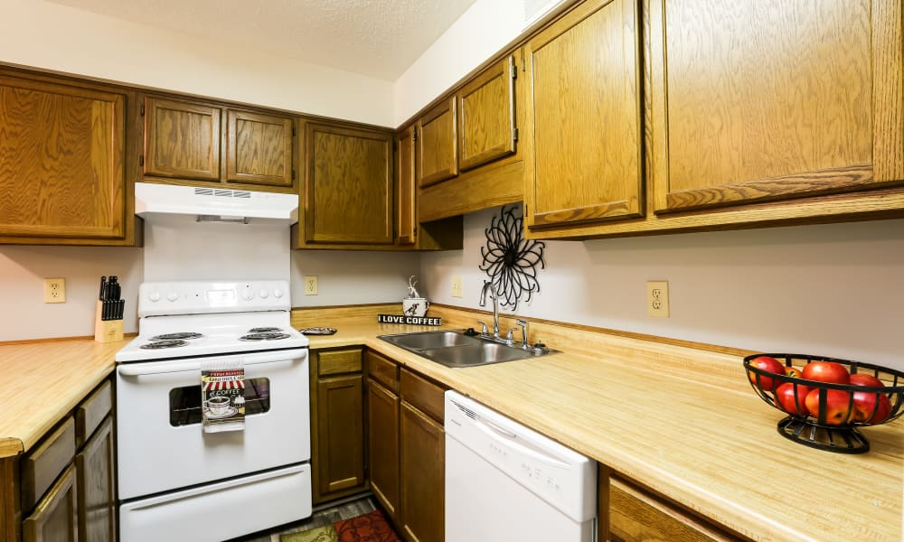 Kitchen at Riverwind Apartment Homes