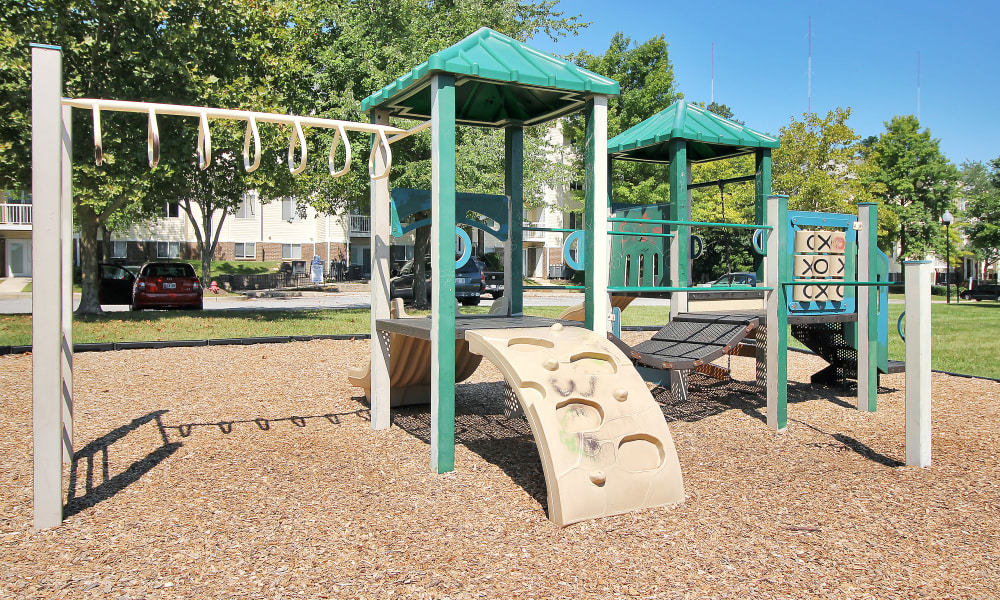 Spacious playground at The Apartments at Diamond Ridge