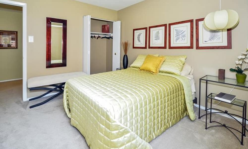 Another beautiful model bedroom at Forge Gate Apartment Homes in Lansdale, Pennsylvania