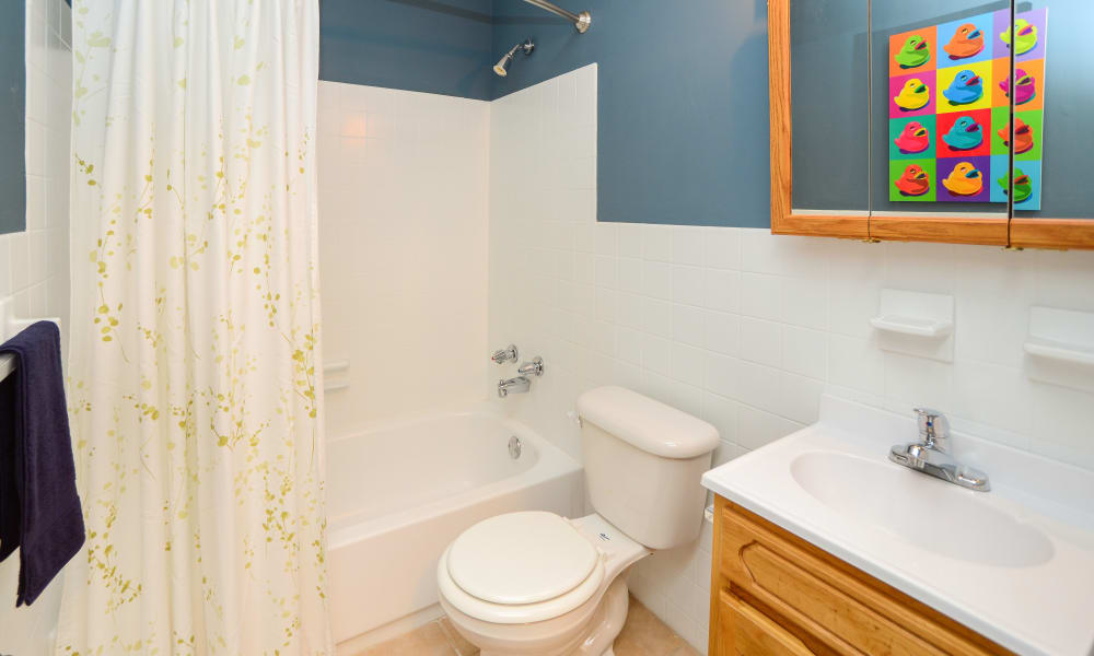 Our apartments in King of Prussia, Pennsylvania offer a bathroom