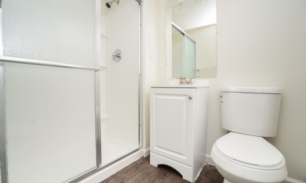 Bathroom at apartments in King of Prussia, Pennsylvania