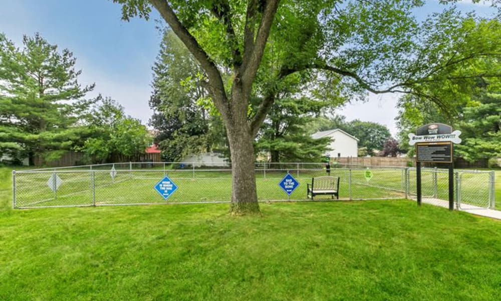 Oxford Manor Apartments & Townhomes offers a dog park in Mechanicsburg, PA