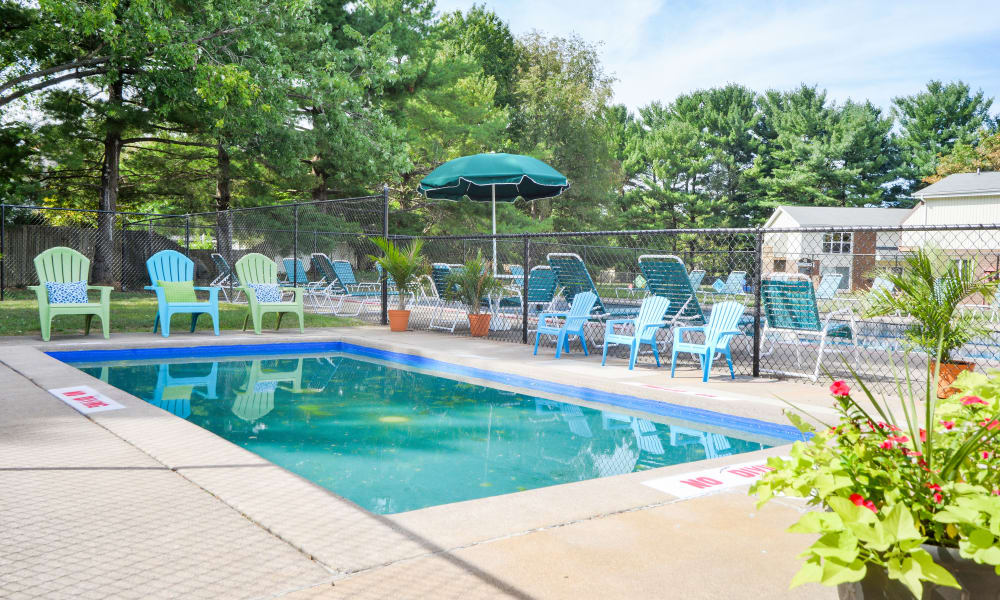 Our apartments in Mechanicsburg, PA offer a swimming pool