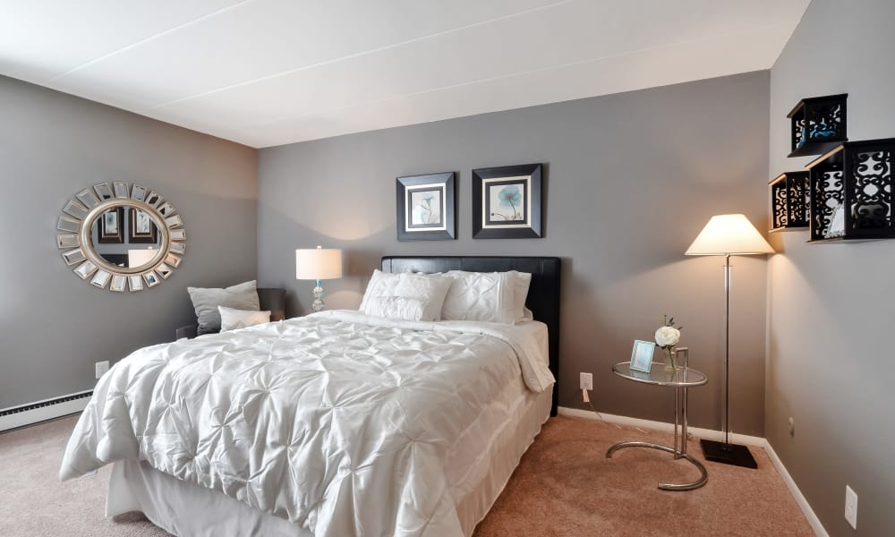Spacious bedroom at William Penn Village Apartment Homes in New Castle, Delaware