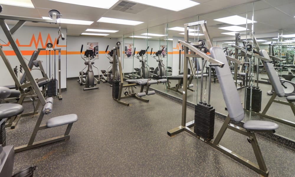 Lakewood Hills Apartments & Townhomes offers a fitness center in Harrisburg, PA