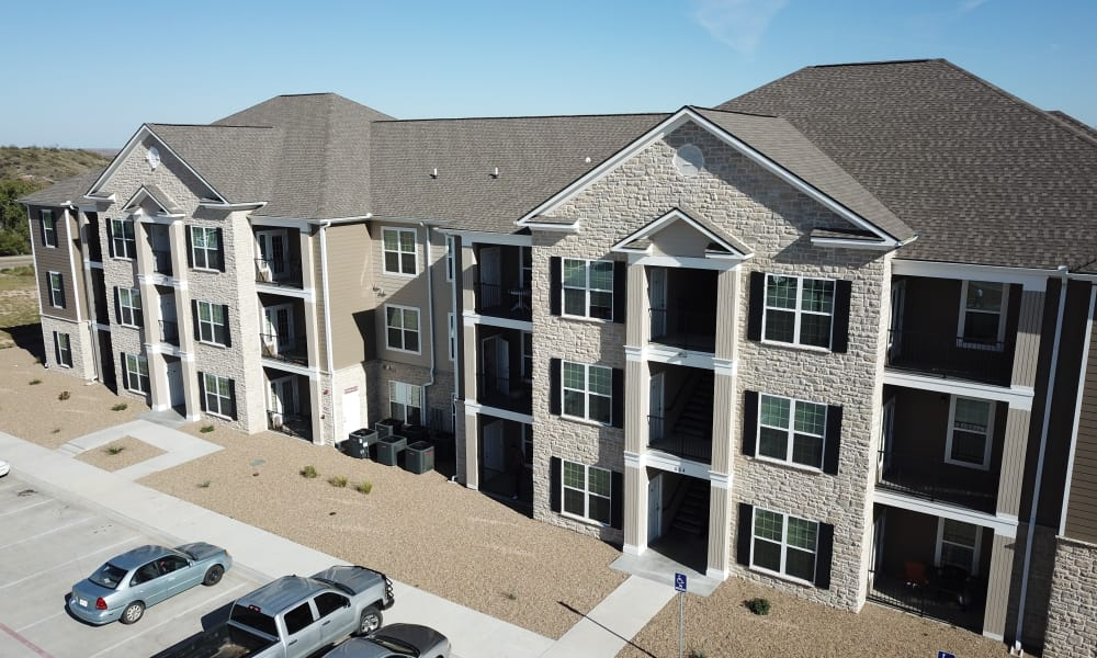 Apartment buildings at The Reserves at Brookside