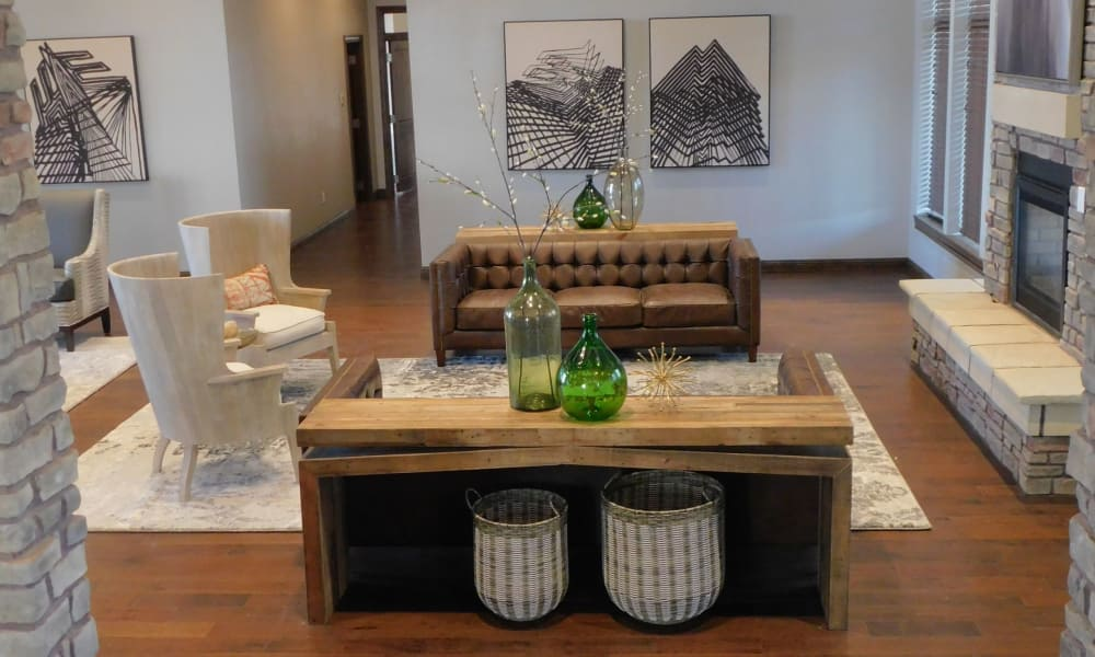 Enjoy the modern interiors at The Reserves at Preston Trails