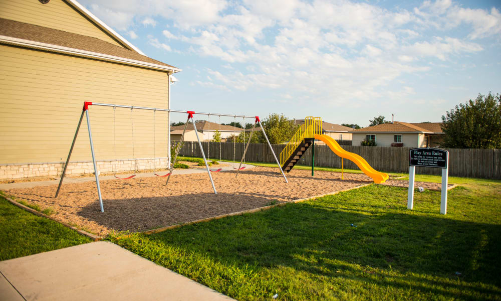 Playground at Flor De Sol in Liberal, KS