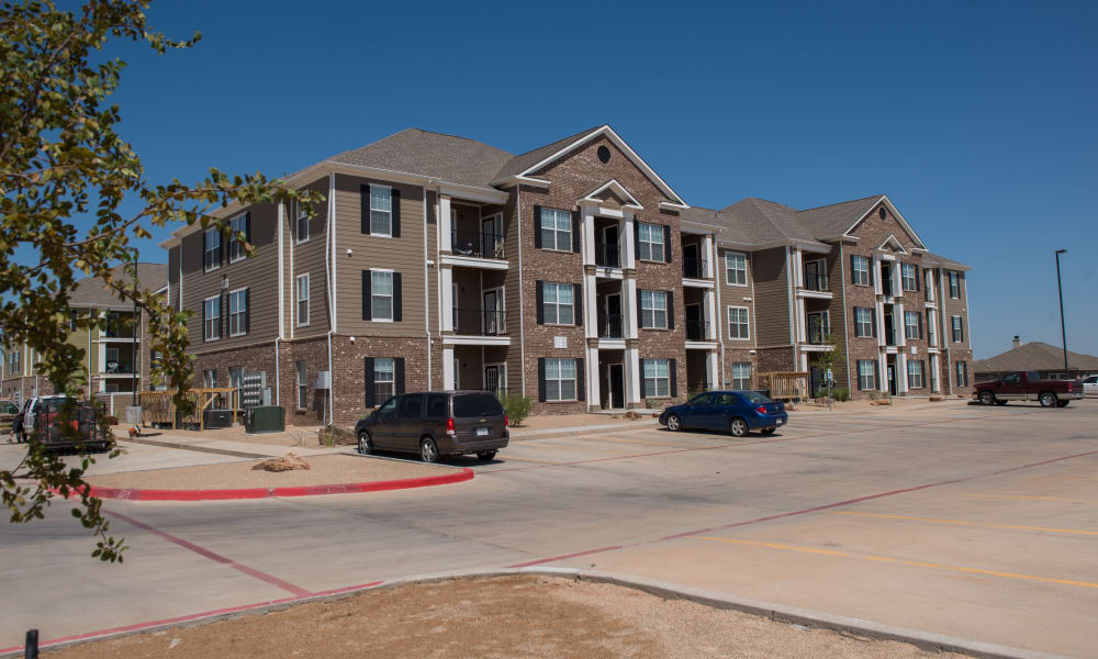 Apartment buildings at The Reserves at South Plains