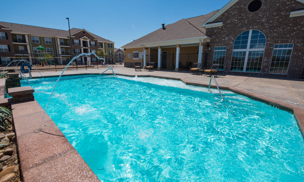 Swimming pool at The Reserves at South Plains