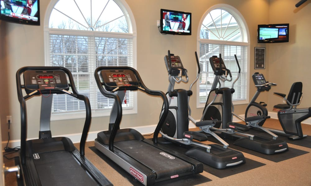 Treadmills at Delaney Apartment Homes in Concord