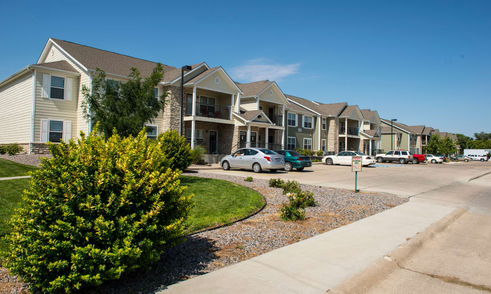 Apartments for rent at Stonepost Apartments in Hays, KS