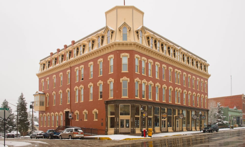 Tabor Grand Hotel in Leadville, CO