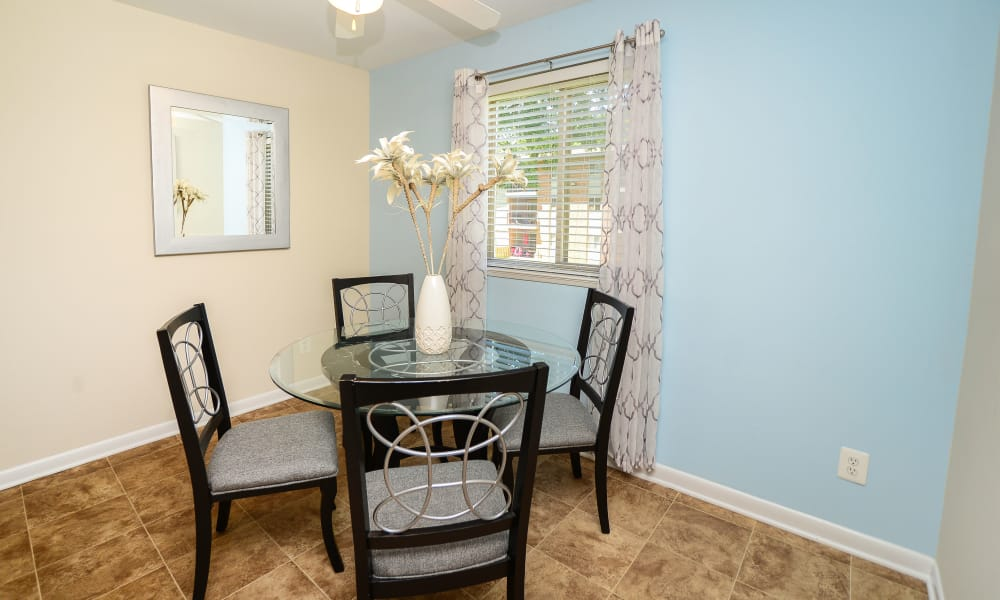 Dining room at Cedar Creek Apartment Homes in Glen Burnie, MD
