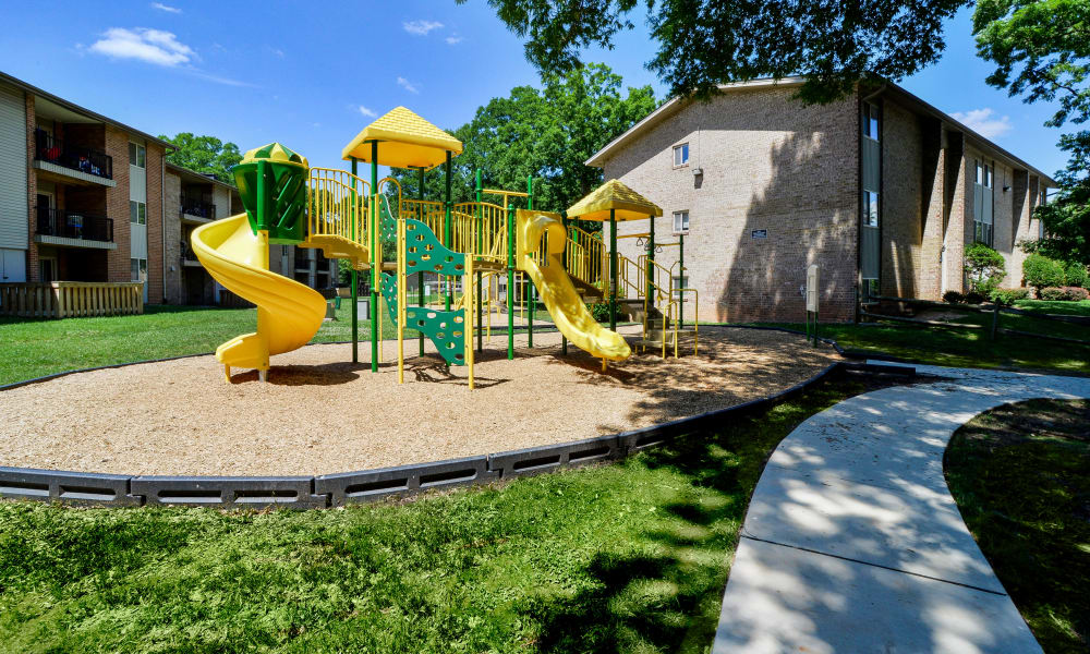 Playground at apartments in Glen Burnie, MD