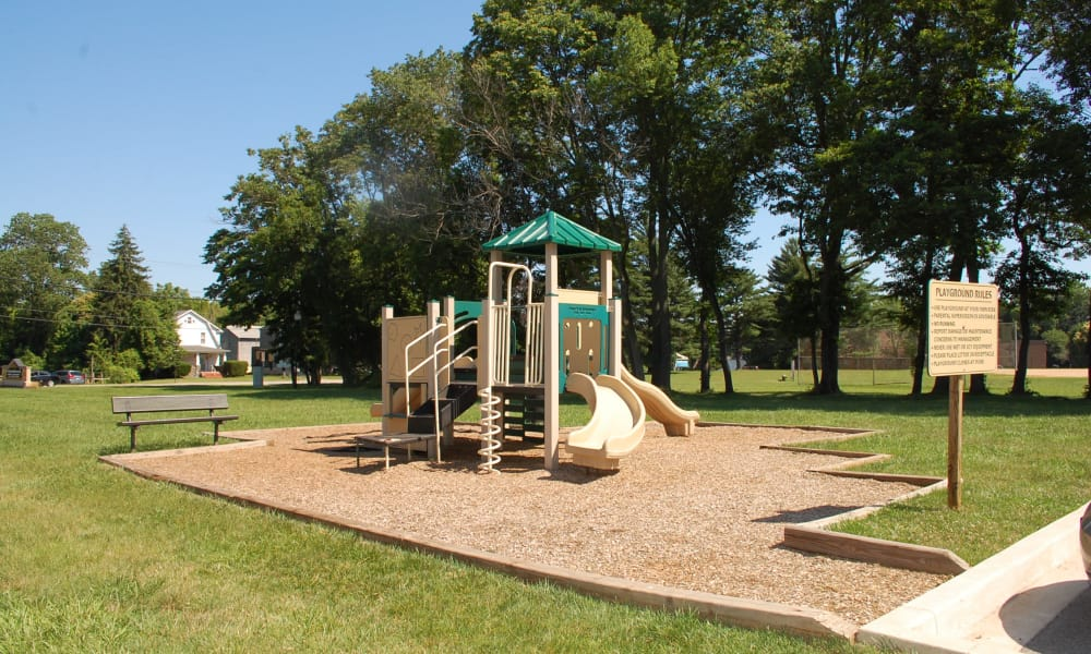 Playground at Gwynnbrook Townhomes in Baltimore, Maryland
