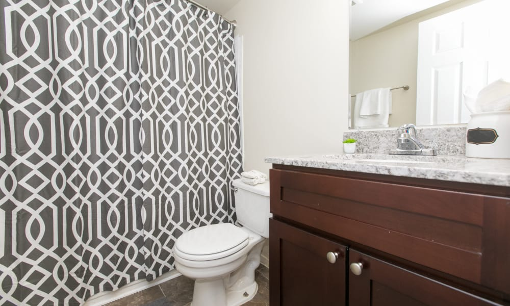 Our apartments in Glen Burnie, Maryland offer a bathroom