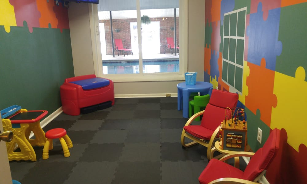 Kids room at Stonesthrow Apartment Homes in Greenville, SC