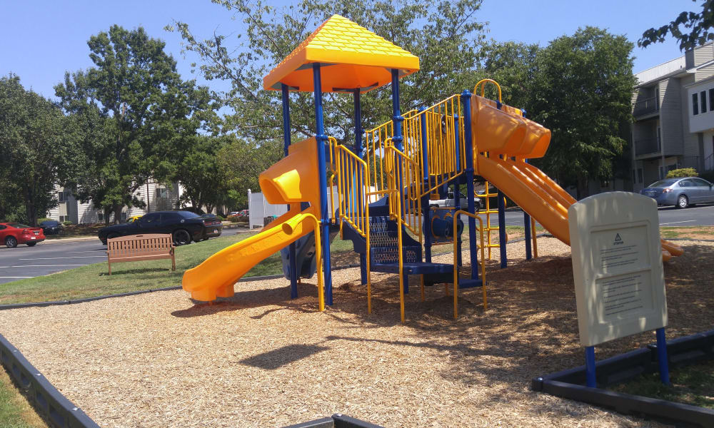 Stonesthrow Apartment Homes offers a playground in Greenville, SC