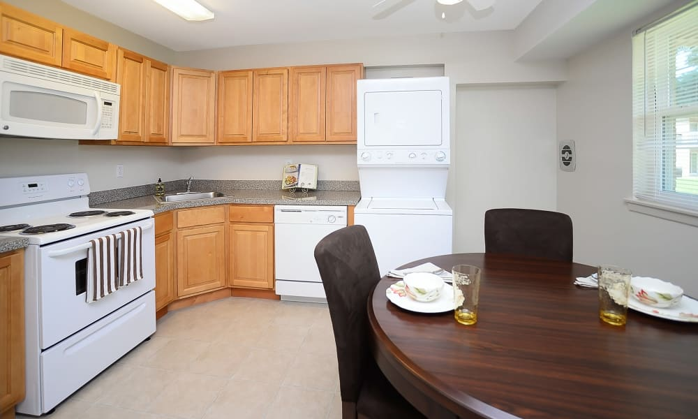 Kitchen at Eastampton Gardens Apartment Homes
