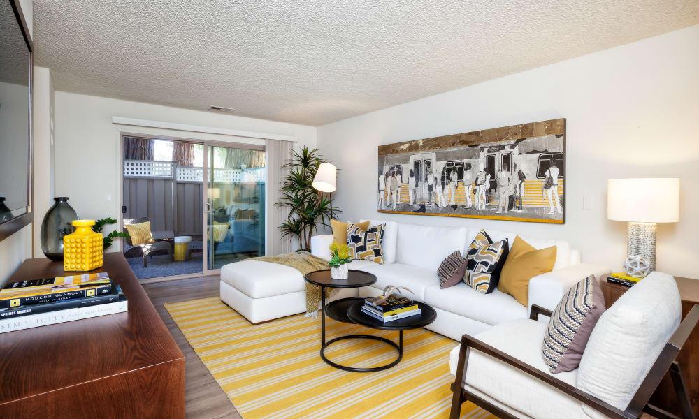 The Shadows Apartments apartment media room/living room