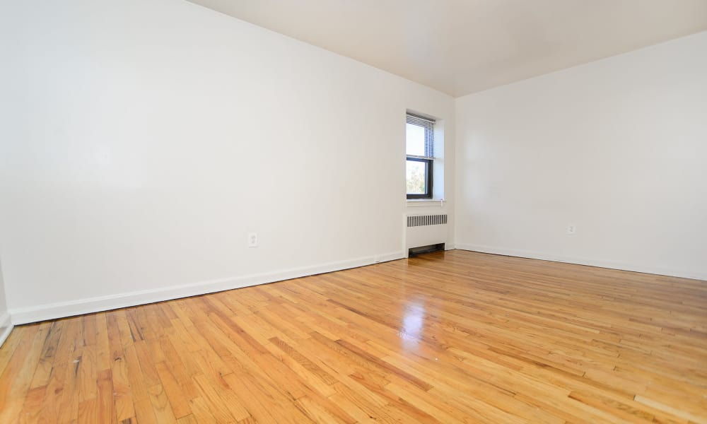 Our apartments offer beautiful hardwood floors at Market Street Apartment Homes