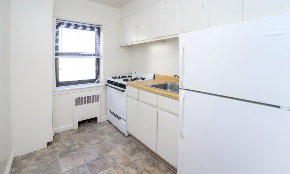 Kitchen at apartments in Perth Amboy, New Jersey