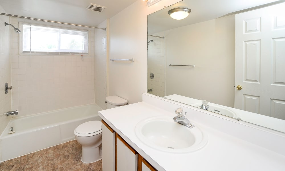 Bathroom at apartments in Pleasantville, New Jersey