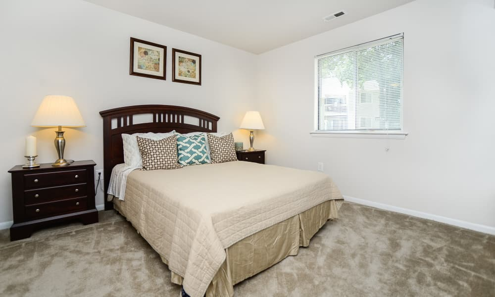 Bedroom at The Landings Apartment Homes in Absecon, New Jersey