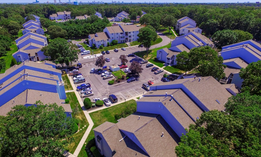 Neighborhood at The Landings Apartment Homes in Absecon, New Jersey