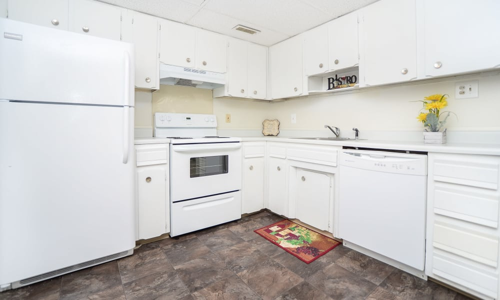 Luxury kitchen at apartments in Vineland, New Jersey