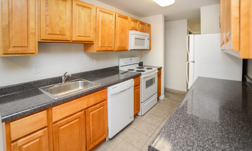 Enjoy apartments with a spacious kitchen at Westminster Towers Apartment Homes