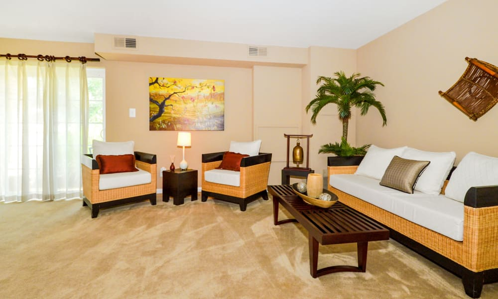 Our apartments in Lansdale, PA showcase a luxury living room