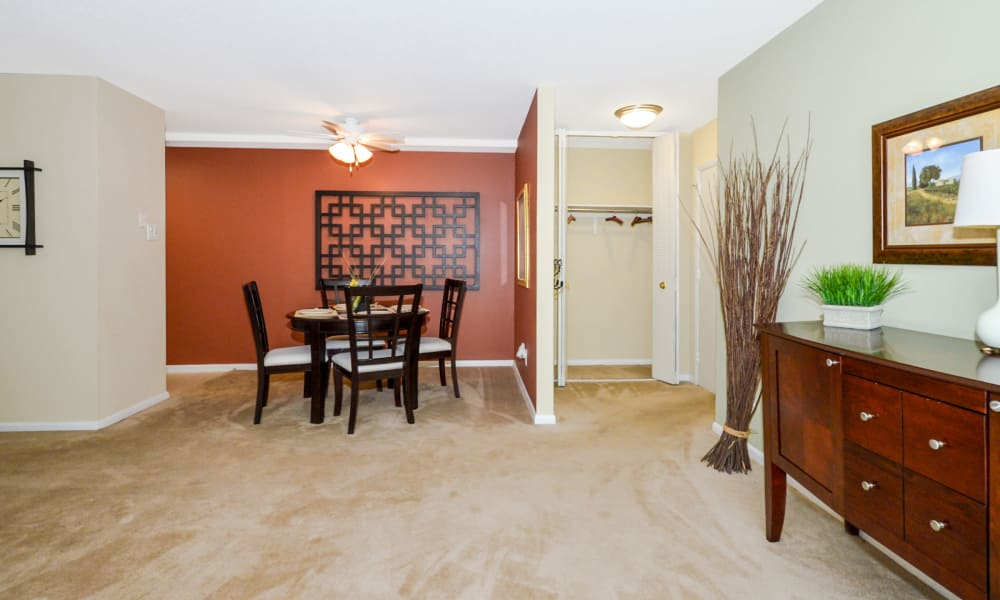 Beautiful apartment interior at Main Street Apartment Homes in Lansdale, PA