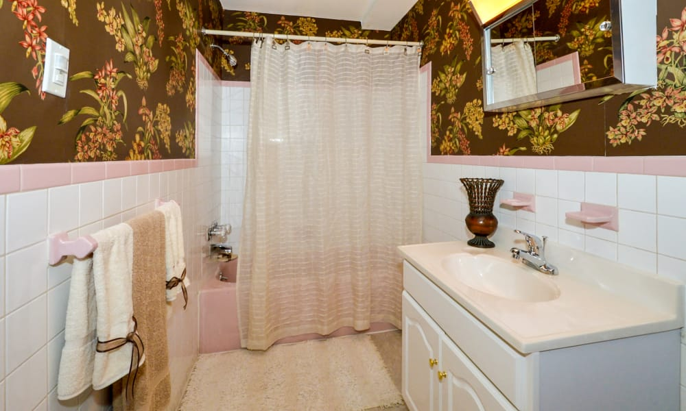 Bathroom at Main Street Apartment Homes in Lansdale, PA